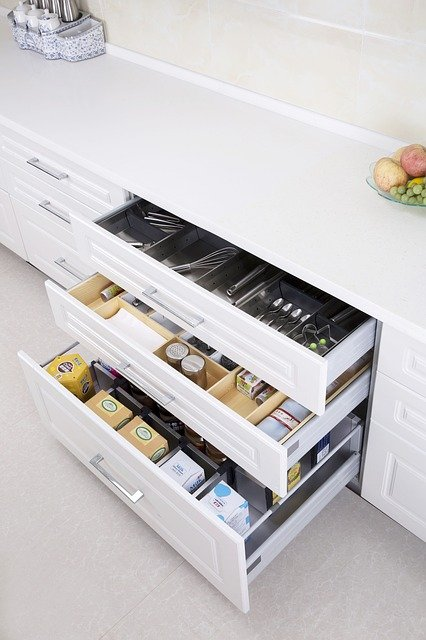kitchen storage cabinets