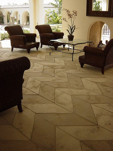 chevron tile