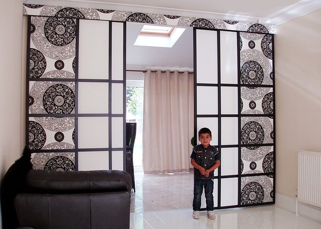 Blinds Room Divider