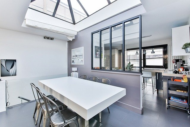 Skylight Over Dining Table
