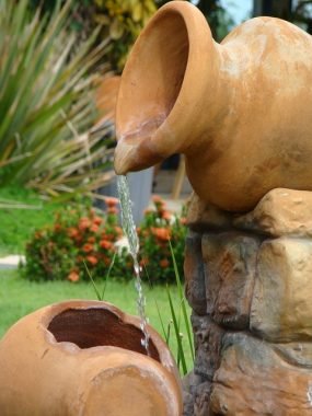 DIY water feature