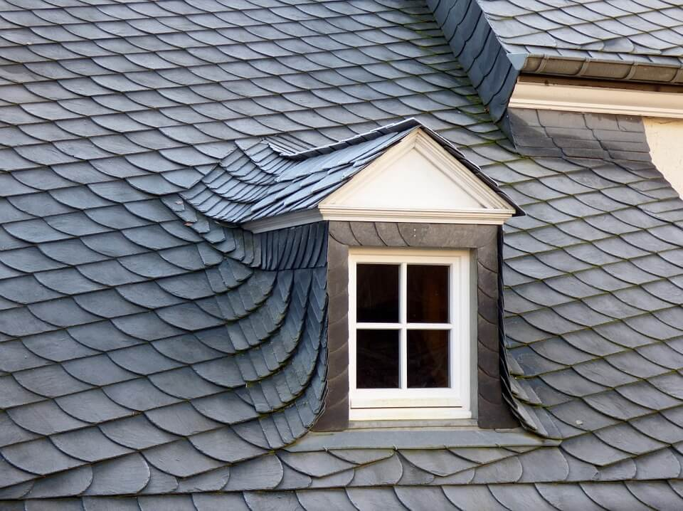 natural slate roof