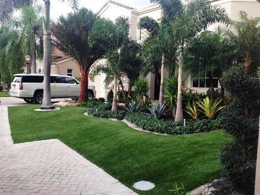 front lawn design