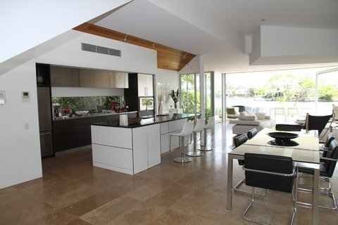Porcelain Tile kitchen