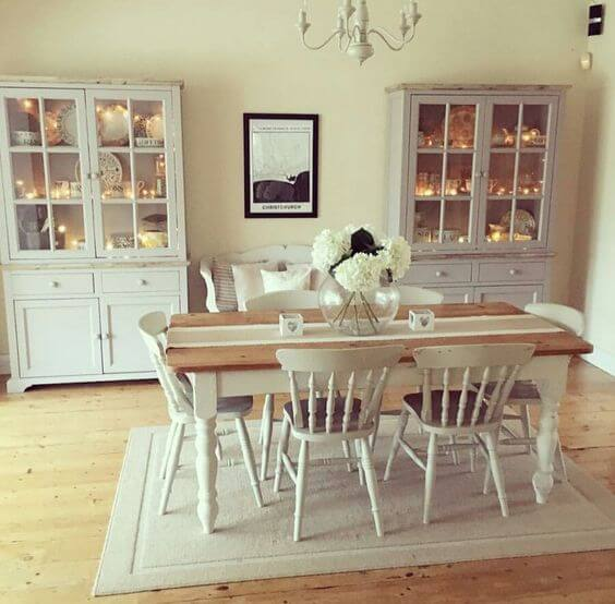 dining room larder style cupboards