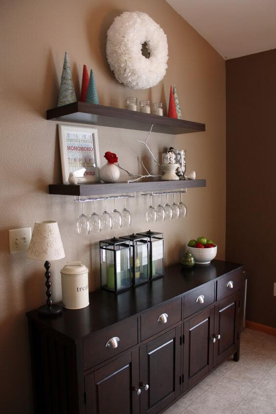 Dining room storage ideas to keep your space clutter free kukun - Dining room shelves ...