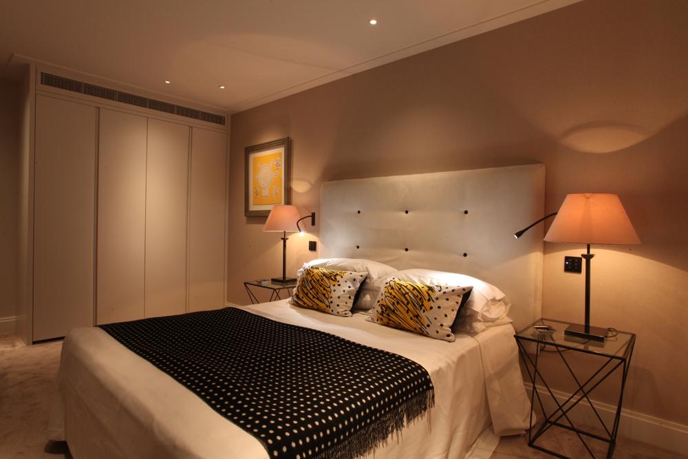 bedroom luxury lighting