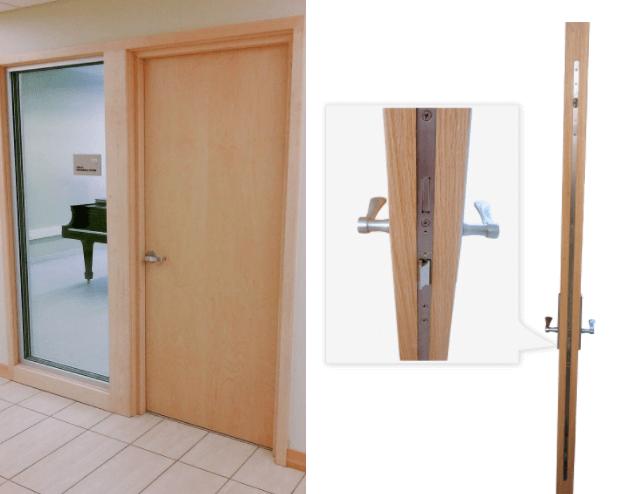 sound-proof door