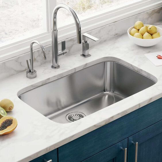 Single Basin Kitchen Sink