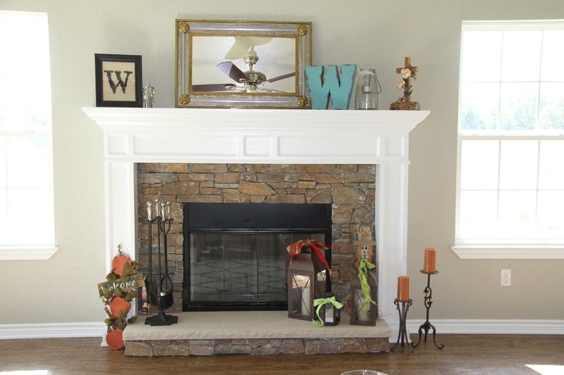 Fireplace decor ideas
