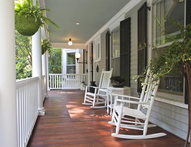 repaint front porch