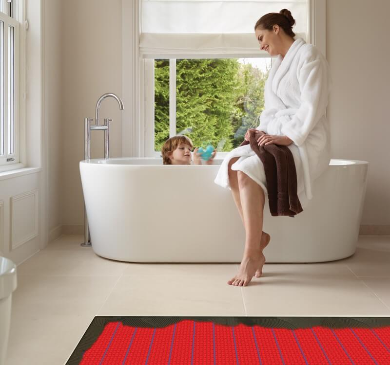 4 important things to consider for a floor heating system for Bathroom floor heaters