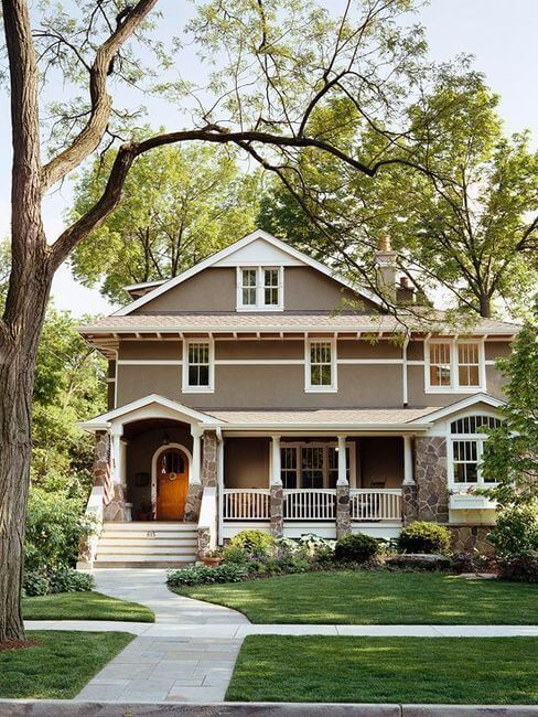 curb appeal of a house