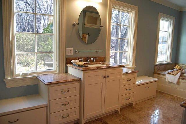 farmhouse bath ideas