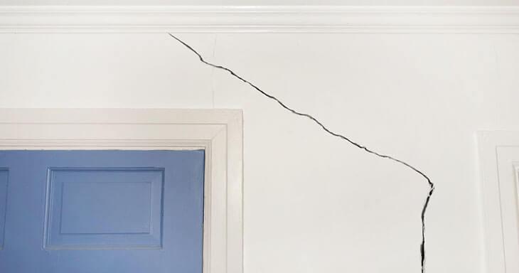 cracks in walls