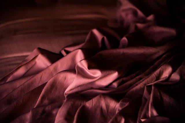 silk bedsheets