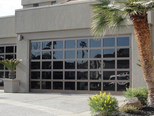 modern garage door