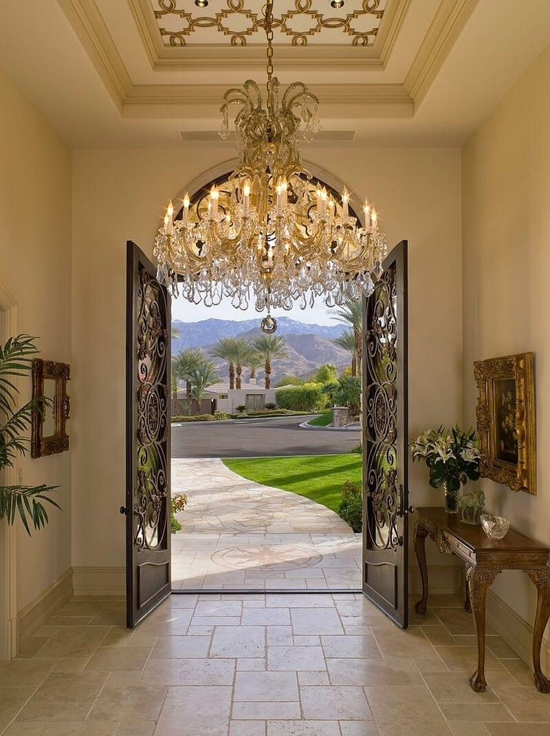 Foyer Chandelier Installation Cost : Unbelievable tips for revamping your home entryway kukun