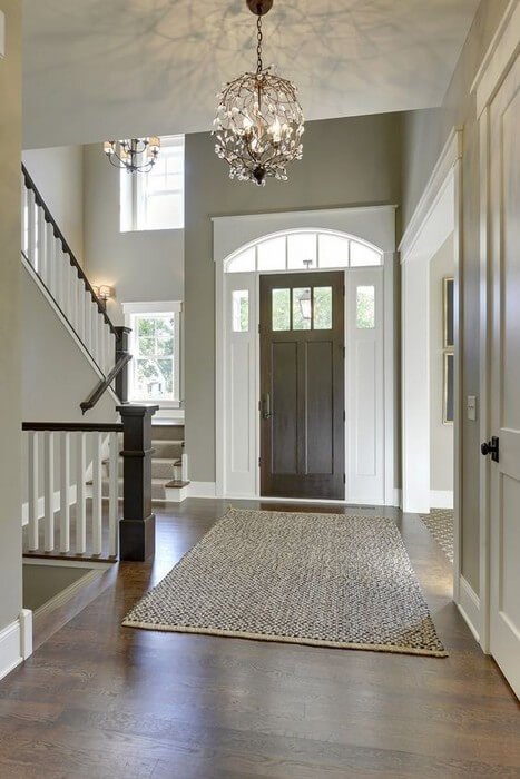 Foyer Chandelier Installation : Unbelievable tips for revamping your home entryway kukun