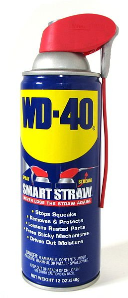 Penetrating oil WD40