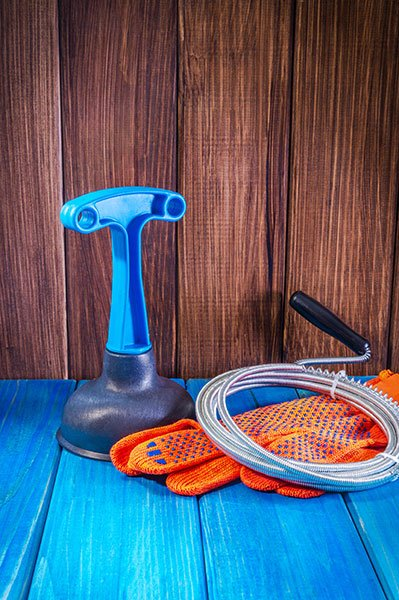 plumber sewer line cleaning