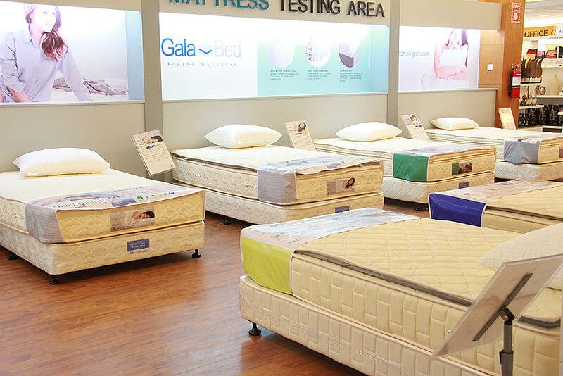 shopping a bed