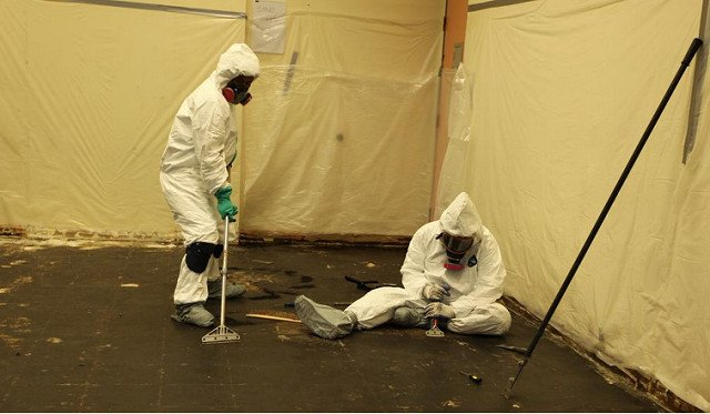 asbestos cleaning