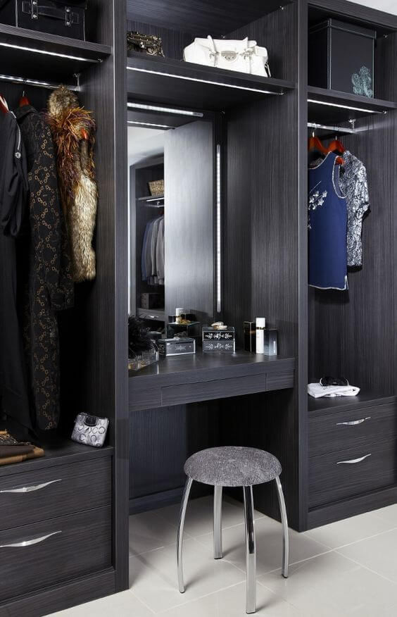 Bedroom furniture arrangement tips for your home kukun - Wardrobe with dressing table designs ...