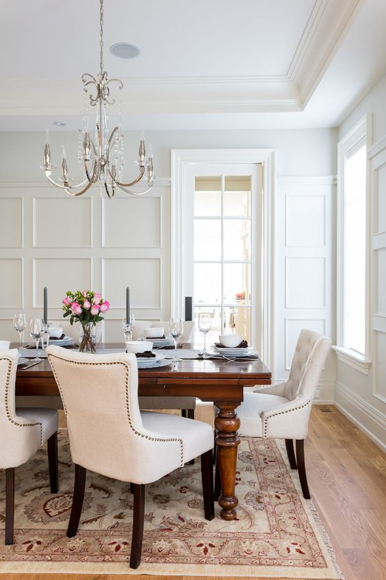 The Best Wainscoting Ideas for Your Dining Room - KUKUN