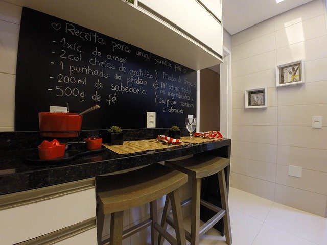 kitchen chalkboard