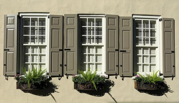 twin shutters