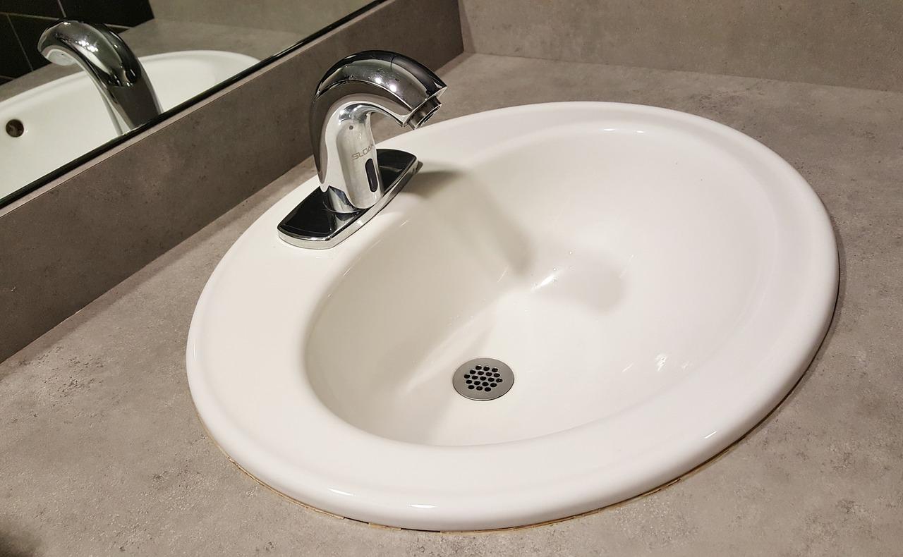 Bathroom Faucet Tap Drain Sink Basin