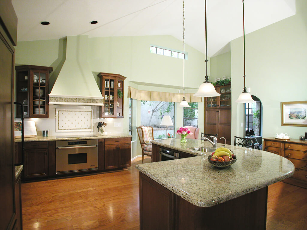 kitchen island shape
