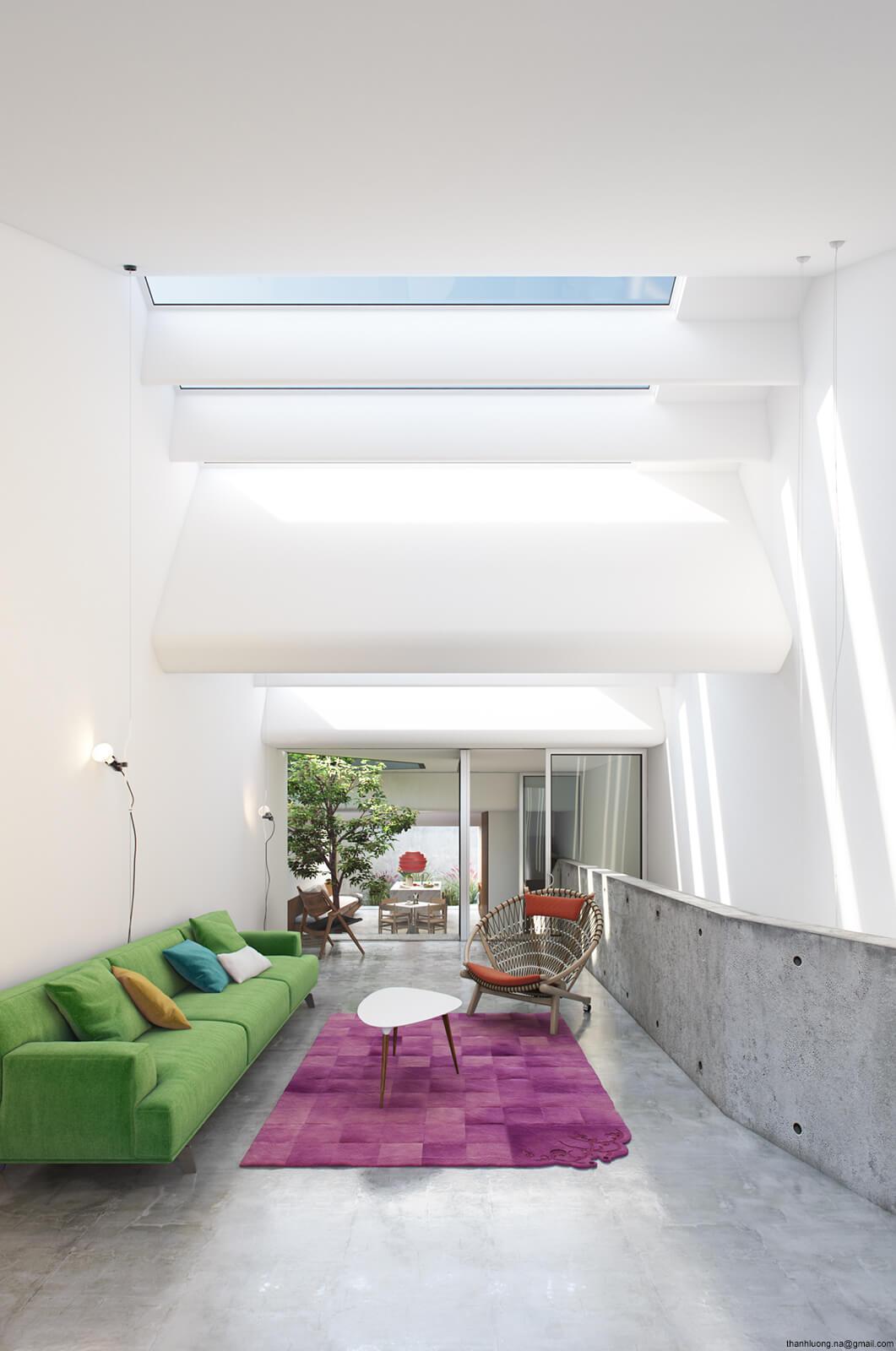 skylight in residing room