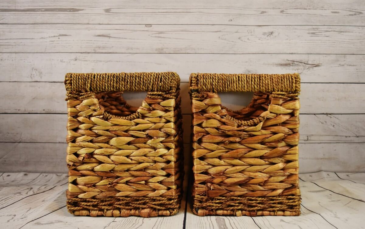 storage baskets boxes