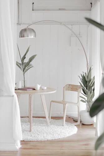 interior design with dazzling glint