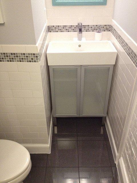 half bath sink cabinet