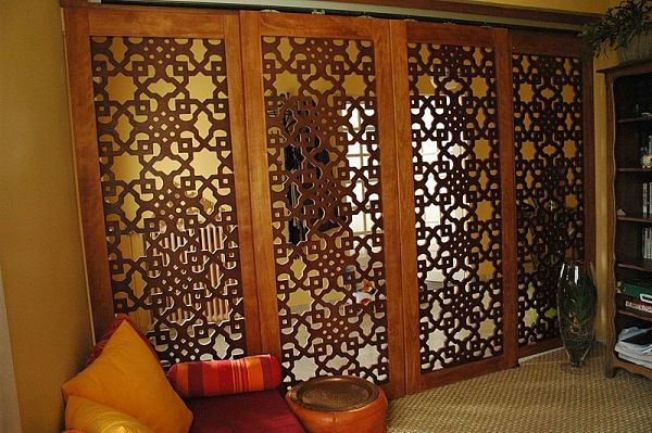 wooden room dividers