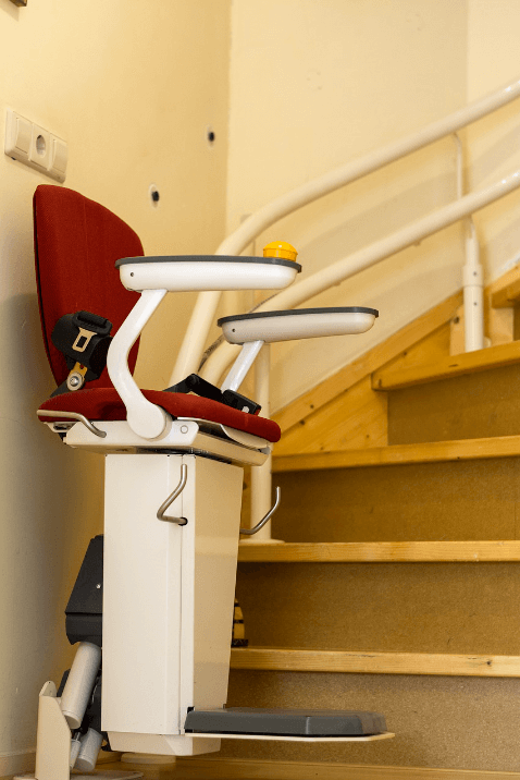installing a stair chair lift