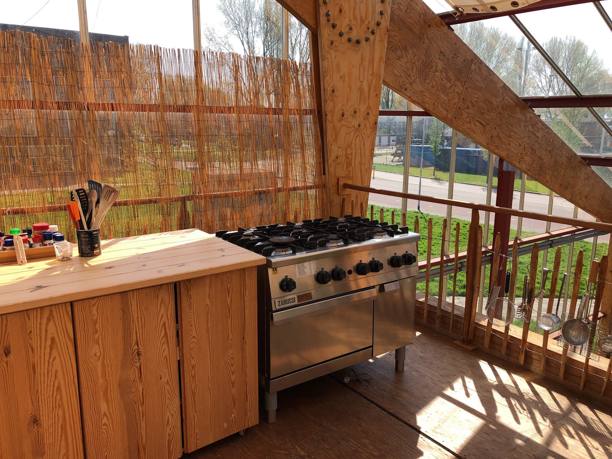 outdoor kitchen salvage cabinets