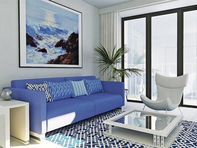 living room patterns