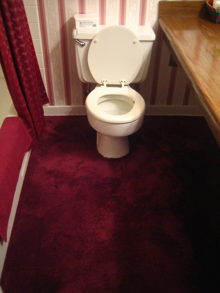 carpet for bathroom floor