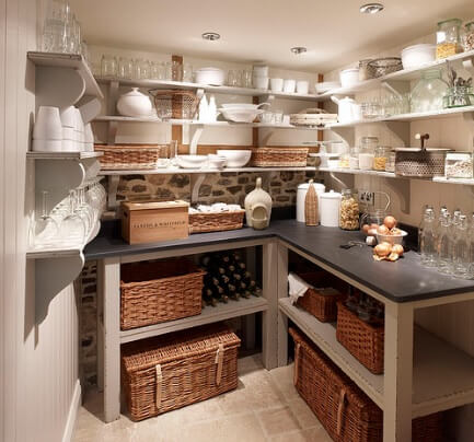 cabinet baskets