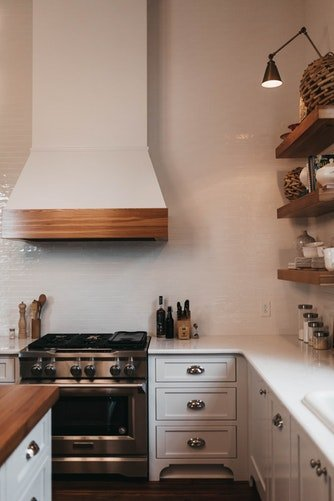 natural wood kitchen