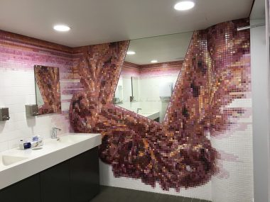 Bathroom wall decor ideas tiles