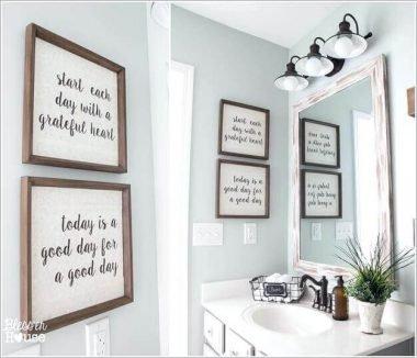 bathroom wall decor ideas pictures