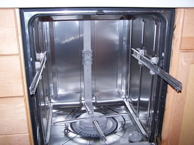 Dishwasher interior