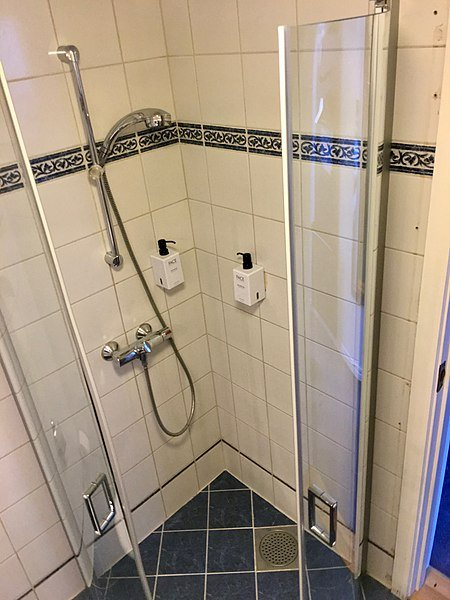drain shower