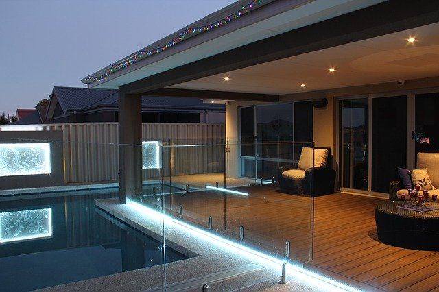 lit deck