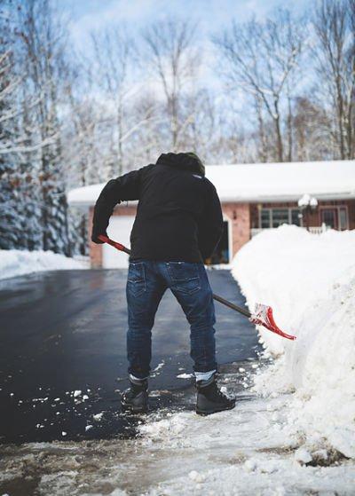 shovel driveway